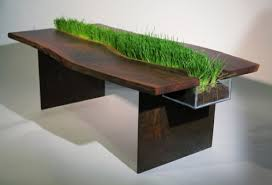 nature inspired furniture. Planter Table Nature Inspired Furniture E