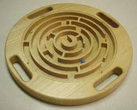 Wooden Maze Game With Ball Bearing Wooden Game Maze Puzzle with Steel Ball Bearing CNC Project Using 90