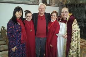 anthony hopkins family. Beautiful Family Sir Anthony Hopkins And His Wife Stella Arroyave At The Blessing Of Their  Marriage In St And Family T