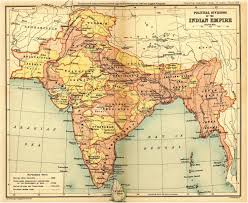 maps of india India Map Before 1600 1909 for a larger view, scroll down india map before 1600
