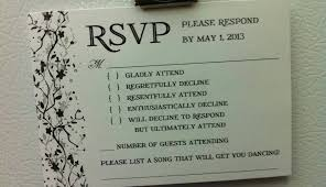 27 elegant rsvp wedding invitation wording inspiration inspiration of funny rsvp wedding cards
