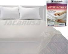 plastic mattress protector. Fitted Vinyl Mattress Protector Lightweight Plastic Bed Cover Four Size W
