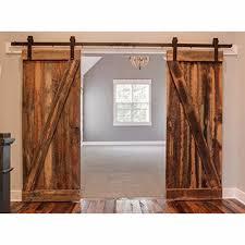 antique black wooden double sliding barn jpg
