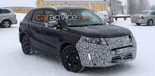 2018 suzuki automobiles. delighful automobiles 2018 suzuki vitara facelift spied inside suzuki automobiles
