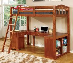 metal bunk bed with desk. Instructive Bunk Bed Desks Oak Wood Twin Loft With U Shaped Desk Below Metal