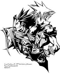 Final Fantasy Coloring Page Free Download