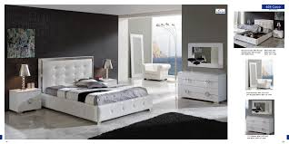 contemporary bedroom furniture white. Bedroom, Bedroom Furniture Modern With White Color Of Bed And Headboard Also Night Stand Contemporary H