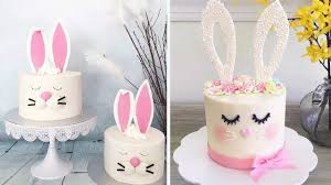 how to make easter bunny cake easy diy cake decorating ideas at home