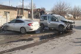 Elazığ'da trafik kazası - Haber Elazığ - Elazığ Haber - Elazığ Haberleri - Elazığ  Son Dakika Haberleri