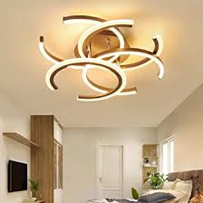 New <b>LED</b> Chandeliers Ceiling <b>Brown Modern</b> Chandelier for ...
