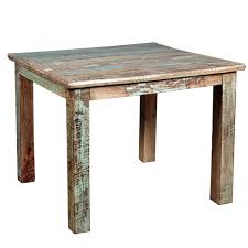 Small Distressed Dining Table Rustic Reclaimed Wood Distressed Small Kitchen Dining Table