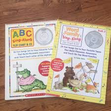 Scholastic Word Family Abc Flip Chart With Cd S