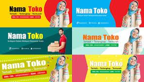 Desain Banner Download Gratis Template Desain Untuk Banner Toko Online