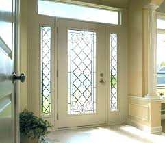 front door glass replacement cost repair houston