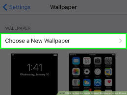 How to Set the Home Screen Wallpaper on an iPhone 8 Steps