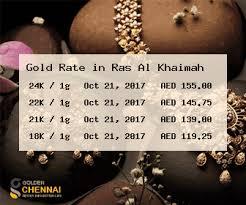Gold Rate In Ras Al Khaimah Gold Price In Ras Al Khaimah