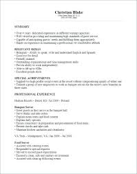 Banquet Captain Resume Sample Best of Poor Resume Examples The Sufficiency Of A Parochial Systems Without