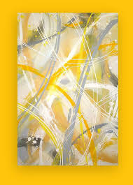 103 best grey and yellow art images on yellow art yellow gray abstract art