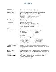 Sample Resume For Freshers Architects Resume Ixiplay Free Resume