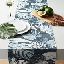 palm leaf table runner