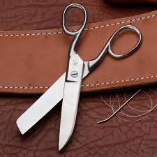 leather upholstery scissors by garrett wade