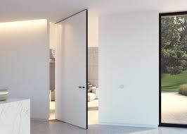 Modern pivot doors