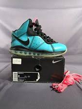 lebron 8 shoes. nike lebron 8 south beach basketball shoes men\u0027s size 417098-401 i