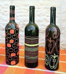 Decorative Wine Bottles Ideas Tinkering with glass bottles 100 creative DIY ideas to make you 91
