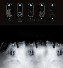 Welldone Present Creative Stylish Desktop Drops Storm Glass