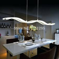 appealing led dining room lighting modern acrylic