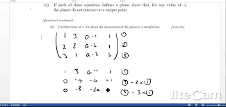 ib hl worked exam solutions how to solve a system of linear equations using gaussian elimination