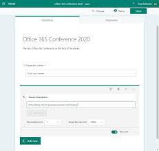 Microsoft Exchange Forms Designer Microsoft Forms Gets File Upload Capability Petri