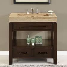 36 single sink cabinet travertine vanity top sink 3 holes