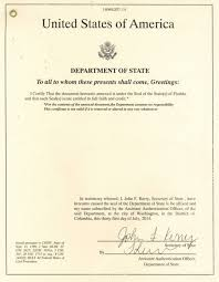 New York State Apostille Consulate Legalization Embassy