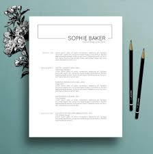 15 Minimalist Resume Templates To Download Use Free Included