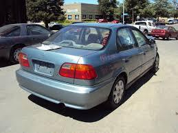 honda civic 2000 4 door. Modren Honda 2000 HONDA CIVIC 4 DOOR SEDAN VP MODEL 16L AT FWD COLOR GREEN A13055  And Honda Civic Door O