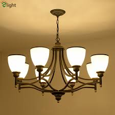 ac v europe frosted glass shades up down led american simple past painted iron best simple