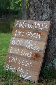 nice rustic wedding sign diy signs the country chi on personalized