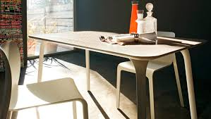 contemporary dining table polypropylene mdf hpl first by stefano giovannoni