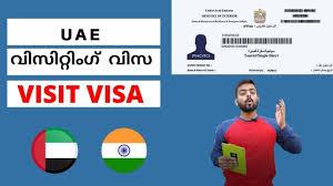 Types of UAE Visit Visa Malayalam | Visit Visa Malayalam | Dubai Visa Ma...  | Dubai work visa, Work visa, Visa