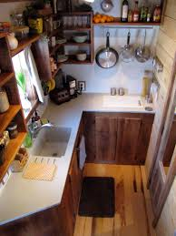 Tiny House Kitchen Tiny House Customs Wasatch 28 Tiny House New Rustic Dwelling From