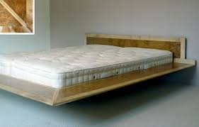floating bed frame design