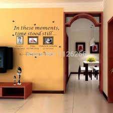 family children wall art sticker personalised quote in these moments names dates removable wall decal on personalised wall art stickers quotes with family children wall art sticker personalised quote in these moments