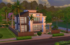 Small Picture Sims 4 Modern House Modern House