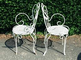 wrought iron garden furniture. Cast Iron Table And Chairs Rod Chair Wrought Patio Bar Garden Furniture