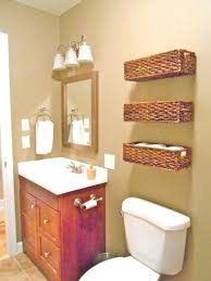 size bathroom wicker storage: i like the idea of having three baskets like these up on the walls for storage