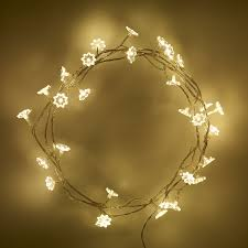 Indoor Sunflower Fairy Lights with 30 Warm White LEDs by Lights4fun:  Amazon.co.uk: Kitchen & Home