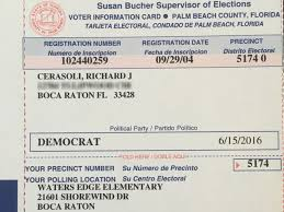 Raising Card Man's Sent Questions Stepdaughter's Home To Registration Deceased Florida Voter