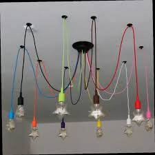 loft rotterdam industrial rock pendant lighting. Cheap Big Chandelier, Buy Quality Chandelier Lamp Directly From China Suppliers: DIY Colourful Spider Lights Led Retro Loft Rotterdam Industrial Rock Pendant Lighting G
