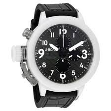 men s watches luxury fashion casual dress and sport watches u boat flightdeck 50 automatic carbon fiber dial men s watch